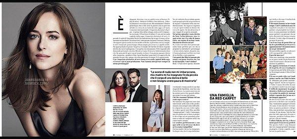 _MAGAZINE_••_Découvrez un scan du magazine Donna Del Corriere Della Sera de février 2017. _