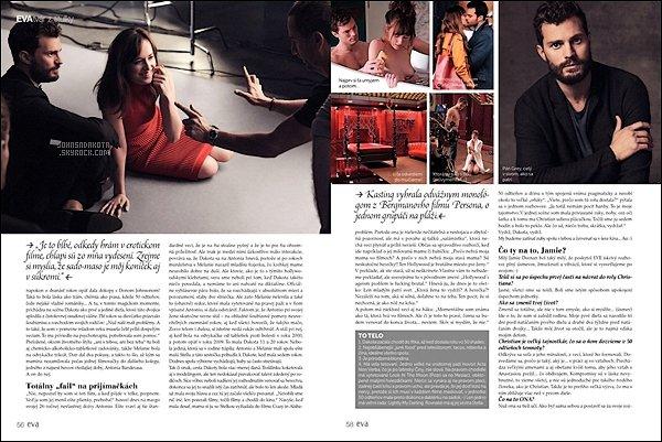 """_MAGAZINE_••_Découvrez un trois nouveau scan du célébre magazine Nederlandais """"EVA """". _"""