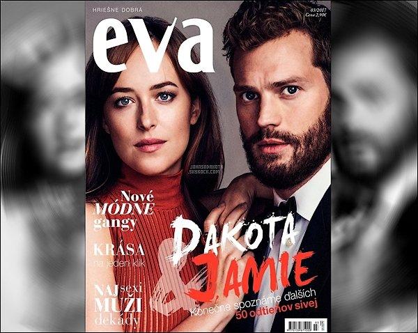 _MAGAZINE_••_Dakota et Jamie faisant la couverture du célébre magazine Nederlandais EVA . _