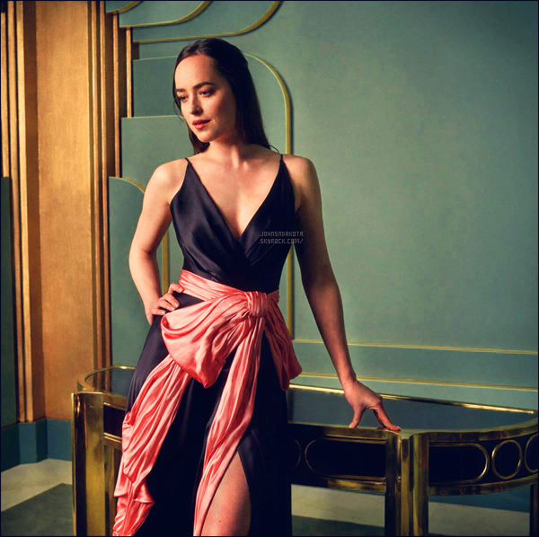Découvrez le portait de Dakota lors de sa présence au Vanity Fair Oscar Party