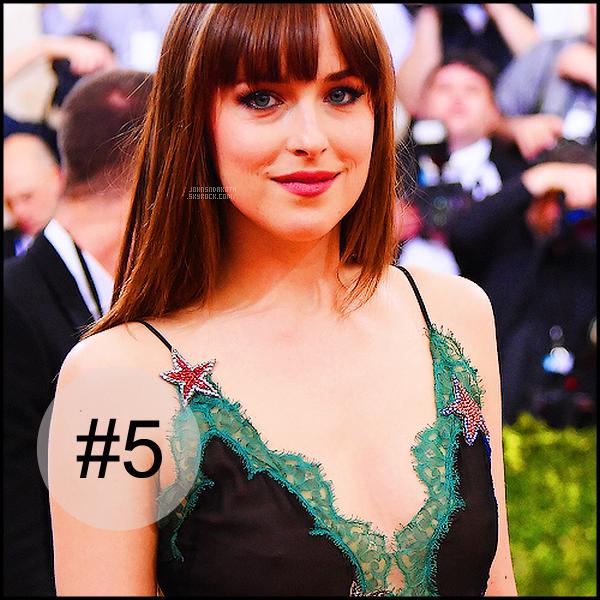. ______●● ●Selon ▬  un site américain Dakota serait élu la 5e femme la plus belle du monde● .