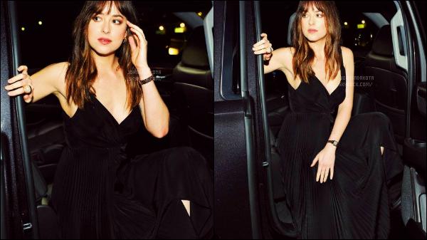 .05/05/17: Dakota  a été photographier en arrivant en voiture au  Milk Studios à  Los Angeles  - Calif  Seulement deux photo en arrivant a la soirée est dispo mais j'espère qu'on en aura d'autre.Je lui mets un beau top pour sa tenueQu'en pensez-vous
