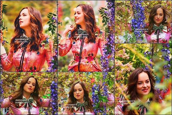Découvrez de nouvelle photo qui sera issu du shoot de Gucci: In Bloom dont Dakota est l'égérie