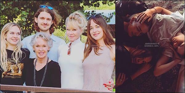 Mélanie Griffith la mère de Dakota a postée deux nouvelle photo sur son compte « instagram »