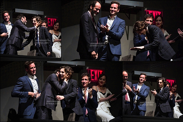 .03.10.2017 : Dakota Johnson  été présente au «New York Film Festival» dans les quartiers de New York  ● Dakota était à la première du film Call Me by Your Name pour soutenir réalisateur Luca Guadagnino. Coté tenue : tres originale sa tenue .TOP