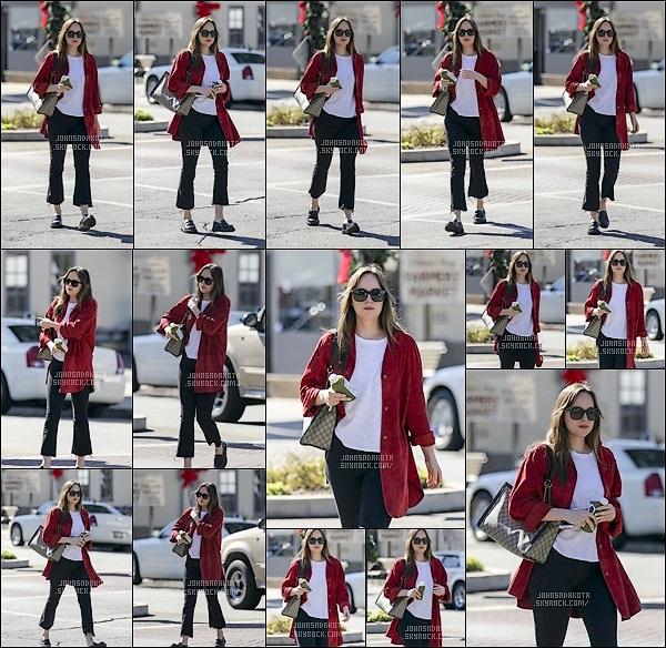 08.11.2017 : Dakota Johsnon   a été photographier en se promenant seules dans les rues de  Los Angeles Johnson nous gate de plus en plus qui aurait cru qu'elle nous referais des sorties d'affilée en tout cas pas nous mais nous sommes fière d'elle au moins