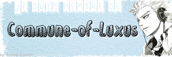 Bannière de Commune-of-Luxus!