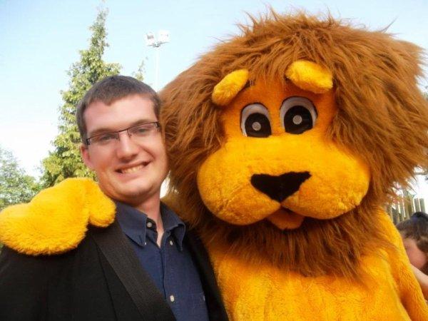 moi et le lion