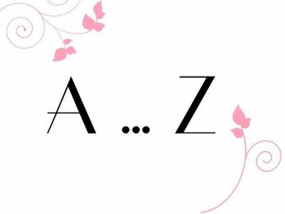 {Tag n°5} Me connaître de A à Z  <3 #Anaïs