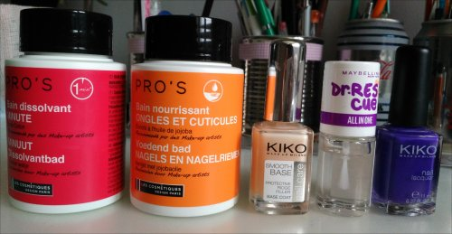 {Routine n°2} Ma routine des ongles