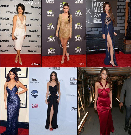 {Sondage n°4} Tenues de Selena Gomez