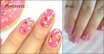 {Nail Art n°10} Je teste des nail art Pinterest