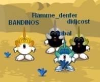 4 patojeurs flous