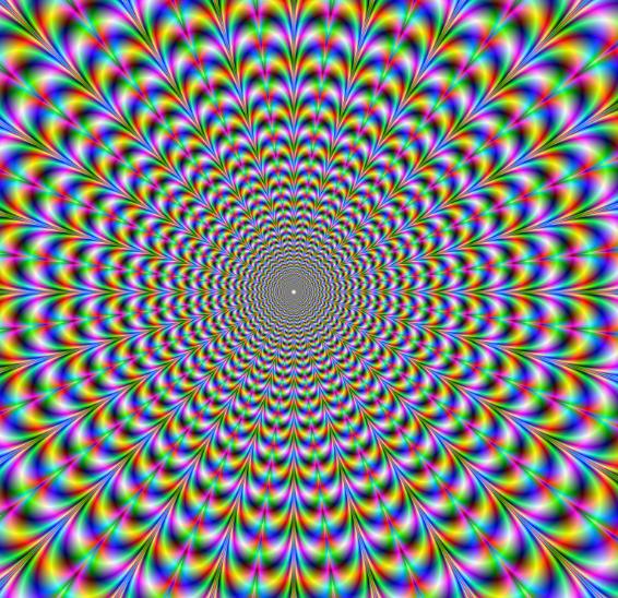Illusion d'optique:Sa Bouge ?
