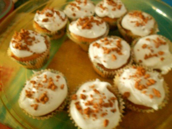 création de cup cakes salés