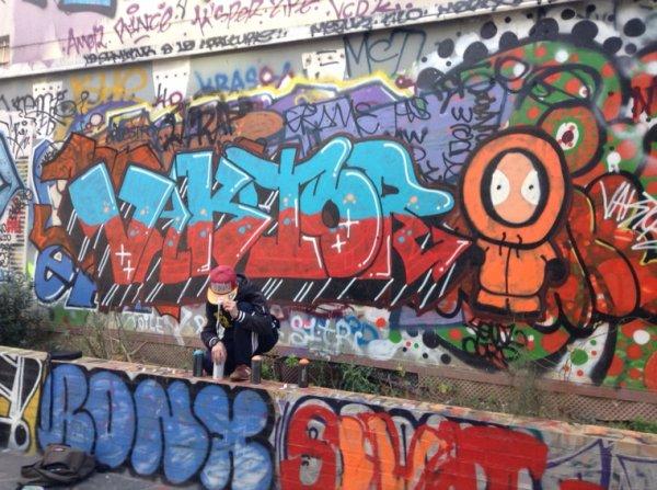 Graffiti o calme