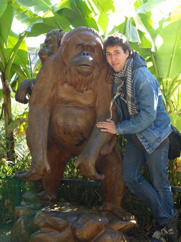 moi et le singe