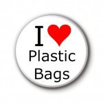I love plastic bag