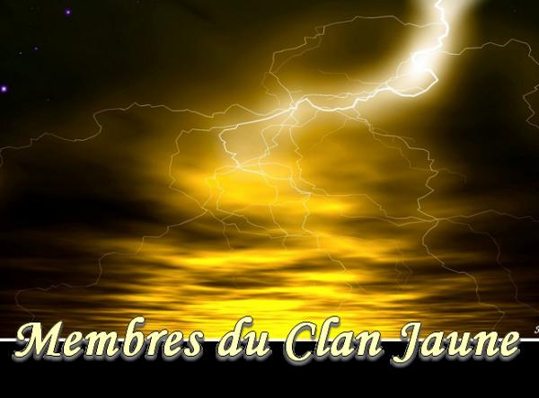 Membres Clan Jaune
