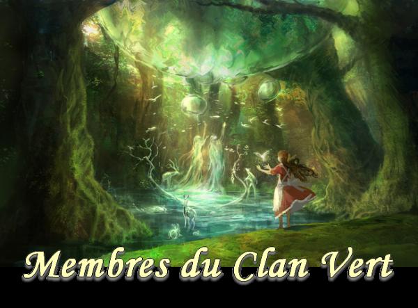 Membres Clan Vert
