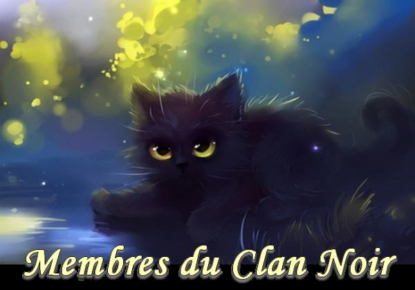 Membre Clan noir