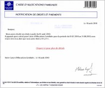 Important La Caf Vous Informe Blog De Aacflemans