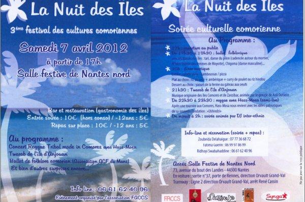 LA NUIT DES ILES 2012 A NANTES