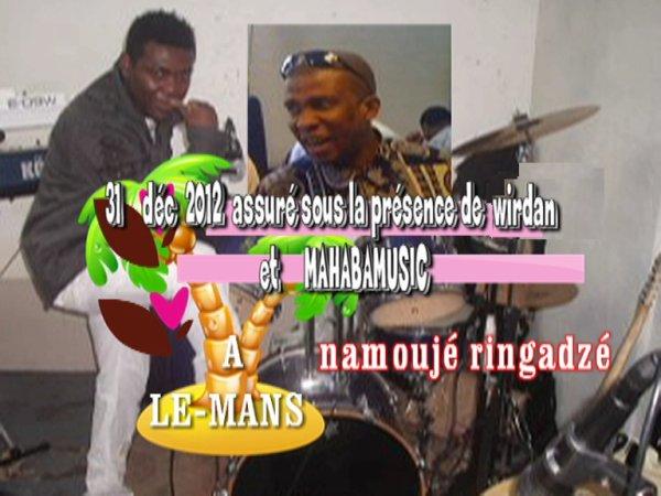 AA.C.F VOUS INVITE LE  31 DECEMBRE 2012 AU MANS