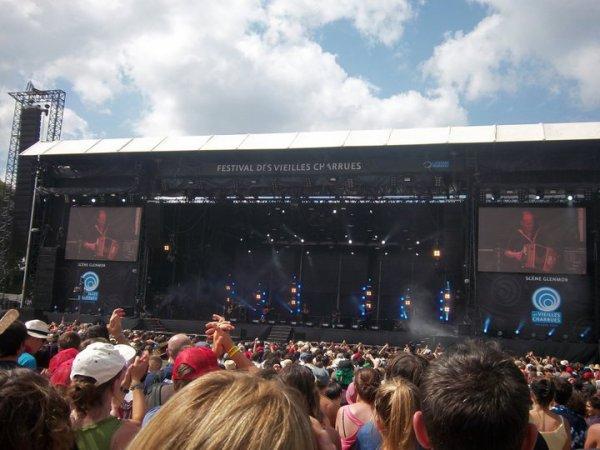 Festival des Vieilles Charrues 2011 - Jeudi 14 Juillet, les 20 ans