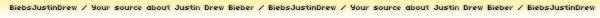 16/01/11 - Justin au Golden Globe Awards. llllllllllIl est magnifique ! Gros gros TOP !
