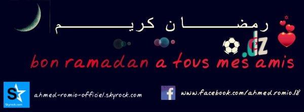 ramadan karim ;)