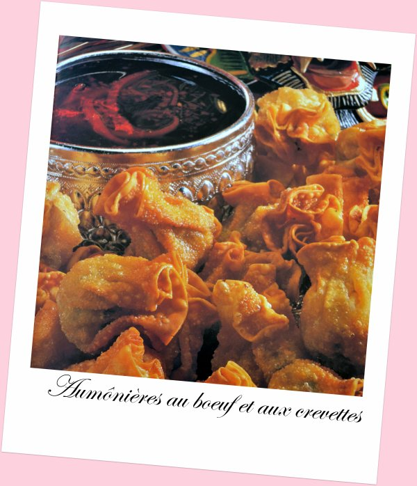 Aum ni res au boeuf et aux crevettes recette tha landaise passion cuisine petits plaisirs - Recette cuisine thailandaise ...
