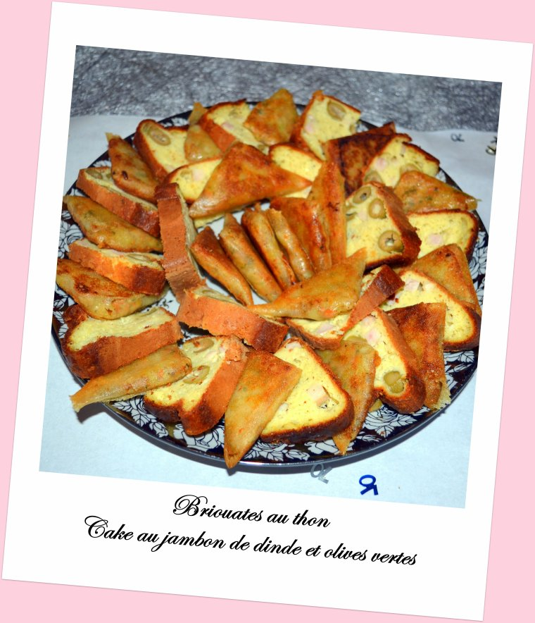 Cake Jambon Olives Boursin
