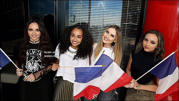 23 / 06 / 16 : Jesy &les fillesont été à l'émission de radio francaise sur NRJ chez Cauet à Paris.