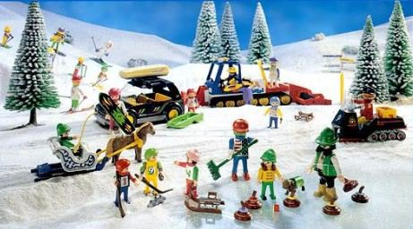 le grand domaine - Playmobil Ski