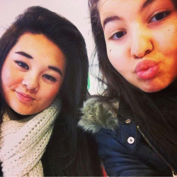 Moi et mon Amel :)