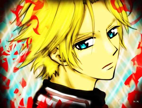 "Aido Hanabusa membre de la "" Night Class "" Vampire"