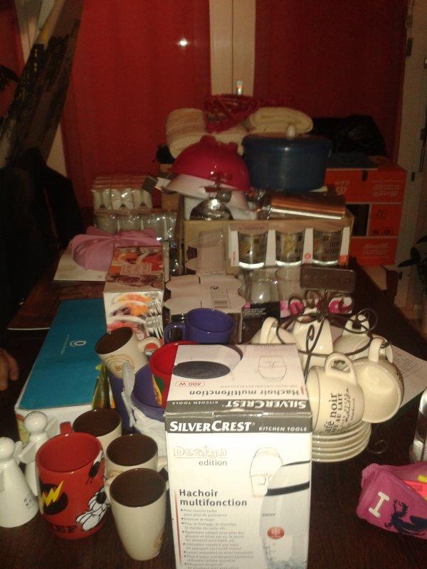 Tous ce que j'ai déjà acheté quand j'aurais un appartement :)