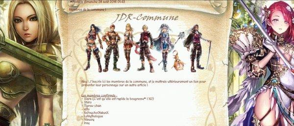 JDR-Commune