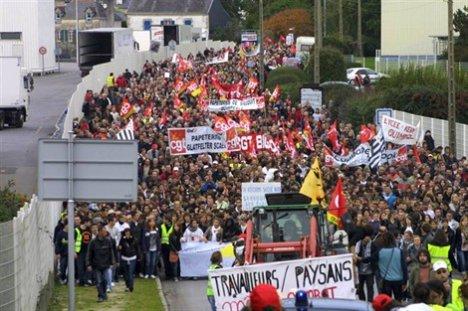 5 500 manifestants contre la réforme des retraites : du jamais vu à Quimperlé