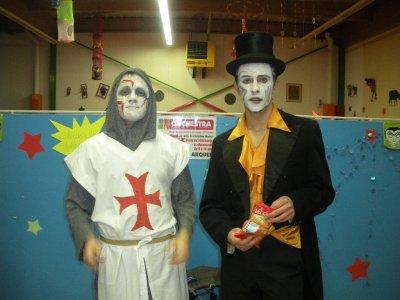 soirée  a clownland ..