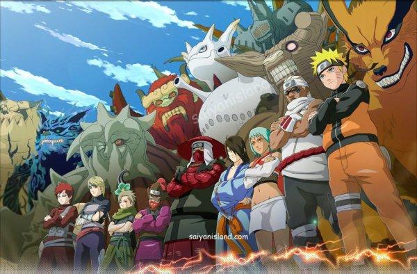 Equipe avec leurs démons/esprits 8-)