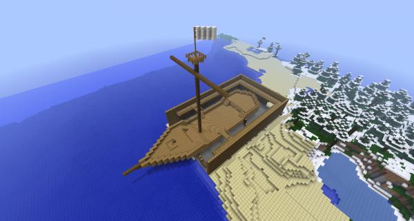 La construction d'un bateau