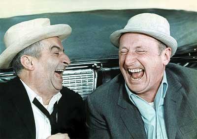 """""""Il y a trois choses vraies : Dieu, la sottise humaine et le rire. Puisque les deux premières dépassent notre entendement, arrangeons-nous au mieux avec la troisième"""""""