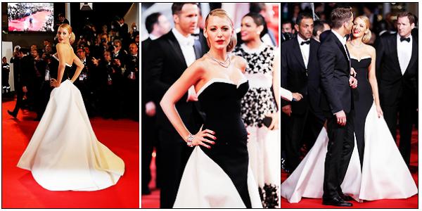● 24 mai 2014 :  Blake Lively accompagné de son Boy-friend au Festival de Cannes, une fois de plus splendide ! + 1ère de couverture.