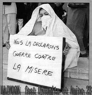 Dirha Tchouf  / Pauvre Mon ALgerie (MAJNOON & Dynamite & AMino) (2012)