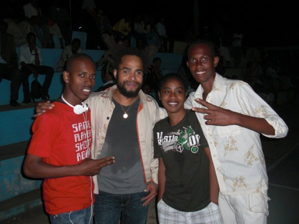 Zael, Mtoro, Dayana & Daniel
