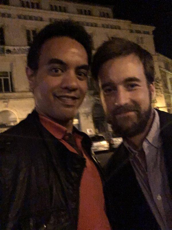 Grégoire Leprince-Ringuet et moi