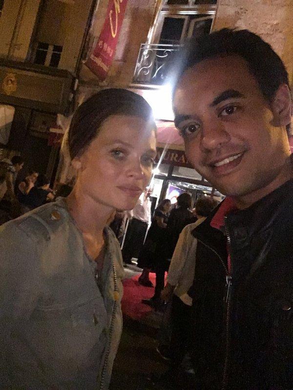 Mélanie Thierry et moi