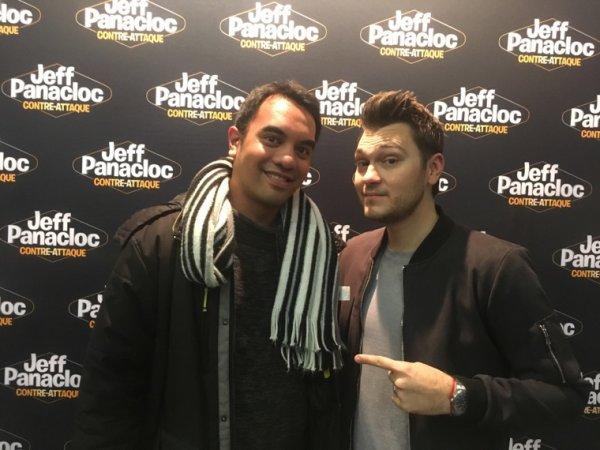 Jeff Panacloc et moi